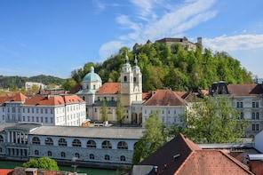 Historical City Centre and Ljubljana Castle
