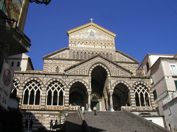 Show item 3 of 10. Amalfi Cathedral on a sunny day