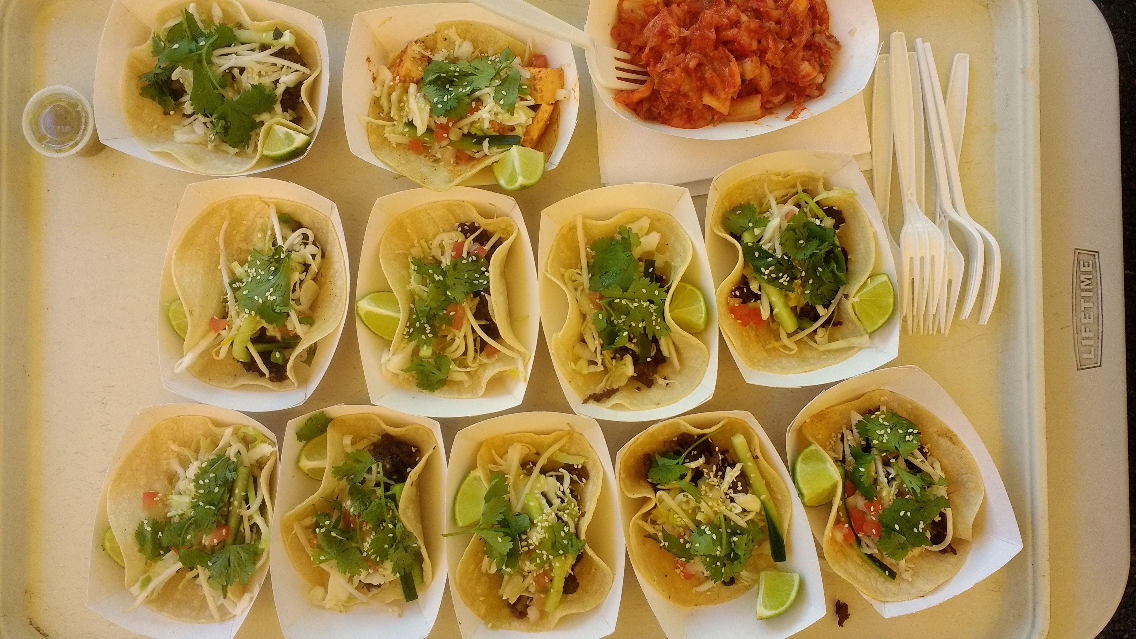 Street tacos in Portland