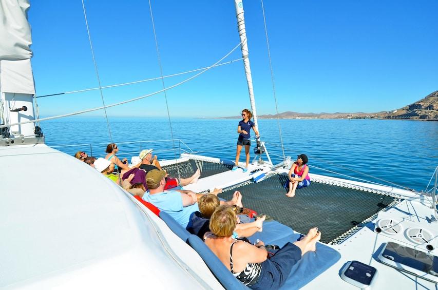 Show item 4 of 6. Private Sailing catamaran in Cabo San Lucas