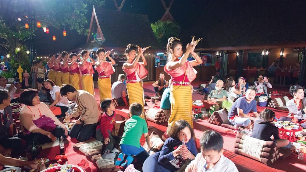 Thai Khantoke Dinner & Cultural Dance Show with Transfers