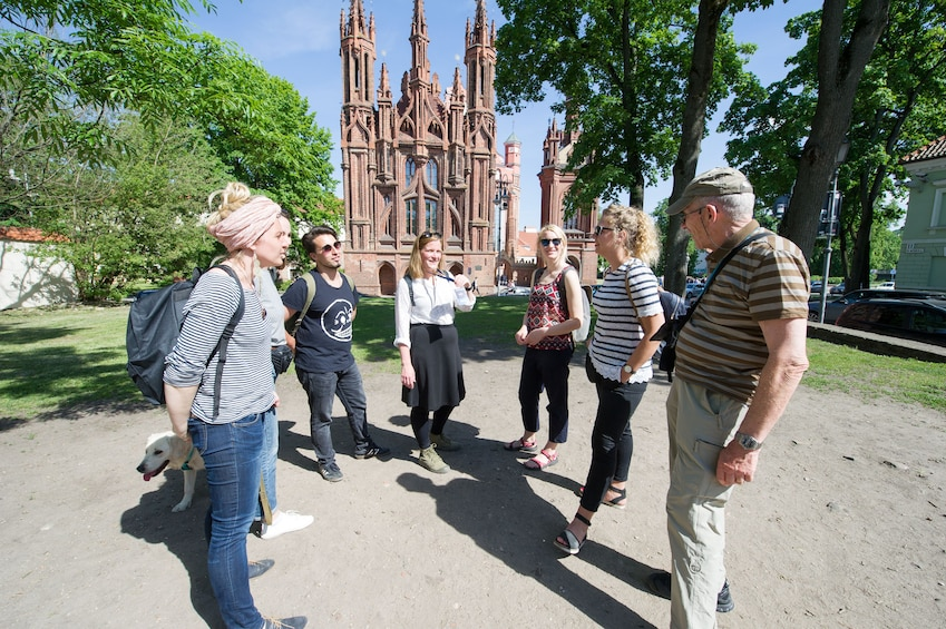 Show item 4 of 4. Private Vilnius Old Town and Uzupis Walking Tour