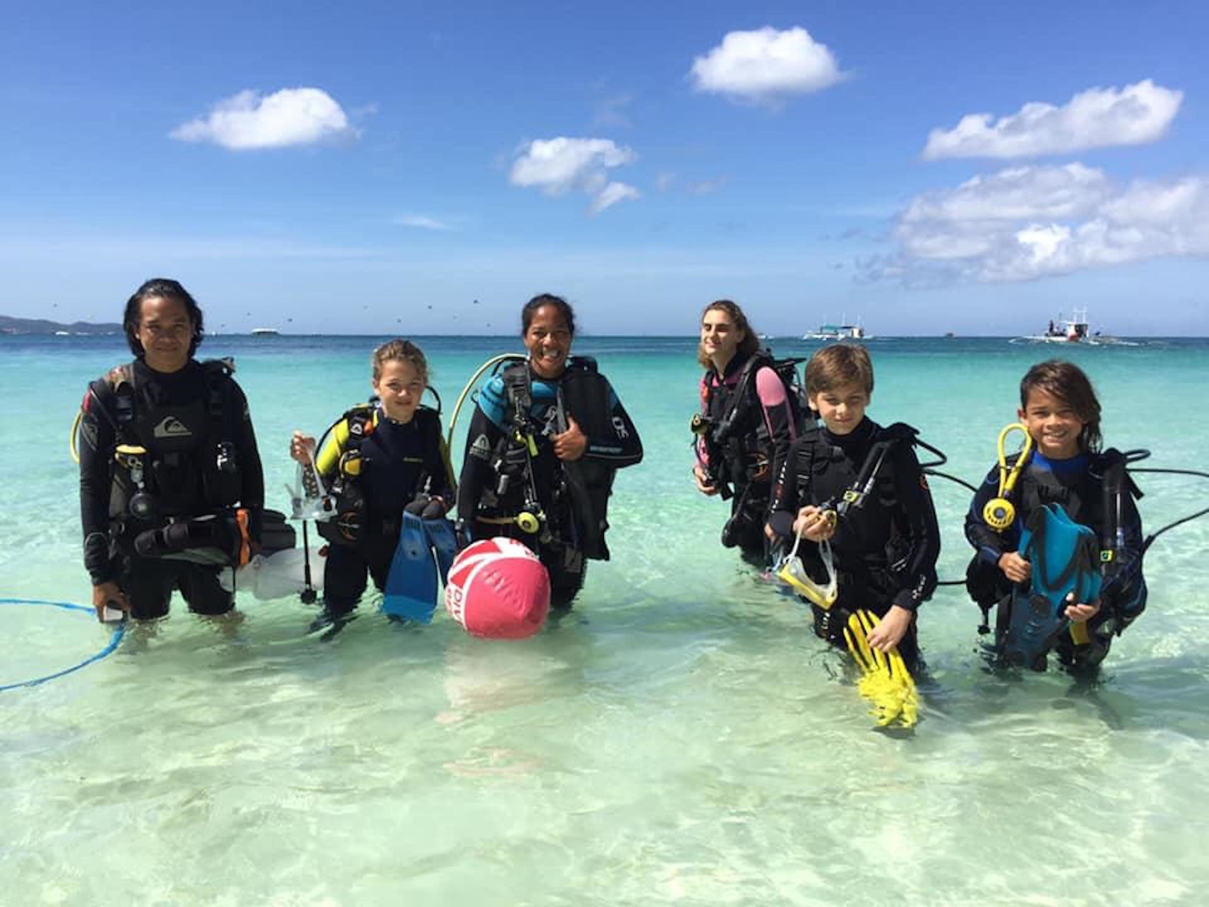 Bubblemaker for Kids from 8 years+ (Intro to Scuba Diving)