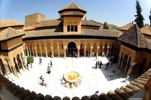 Alhambra,Nasrid Palaces,Generalife and Alcazaba Private Tour