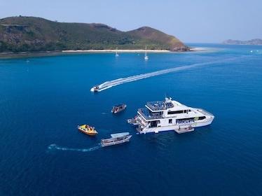 Cruise boat in Fiji