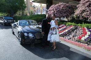 Las Vegas Sign Wedding and Rolls Photo Tour Combo