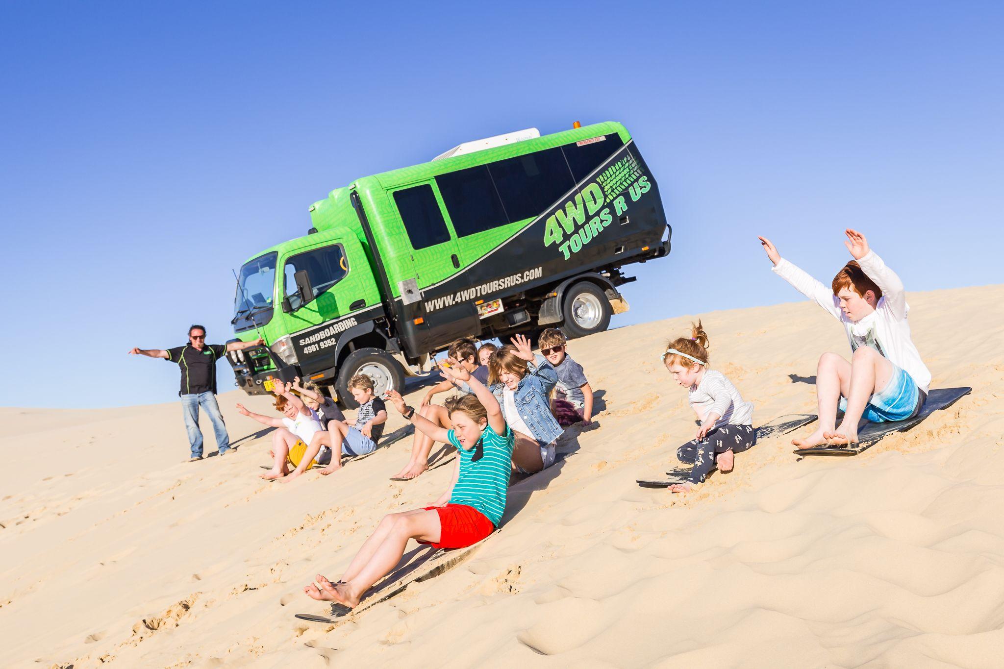 Unlimited Sandboarding Port Stephens