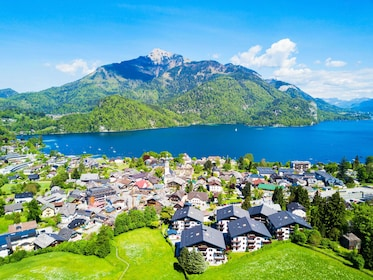 St. Gilgen and Wolfgangsee lake aerial panoramic view in Salzkammergut region in Austria-min.jpg