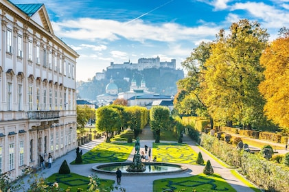 Beautiful view of famous Mirabell Gardens with the old historic Fortress Hohensalzburg in the background-min.jpg
