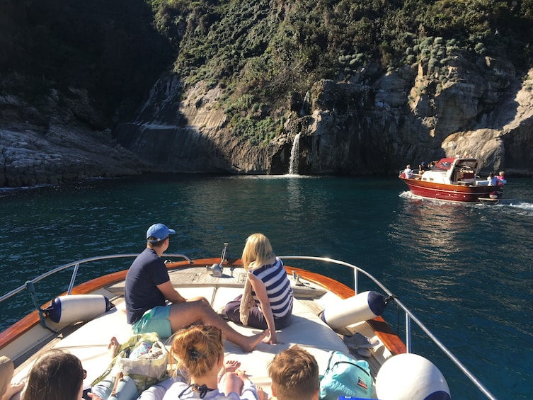 Show item 1 of 10. Boat tour from Sorrento to the Amalfi coast