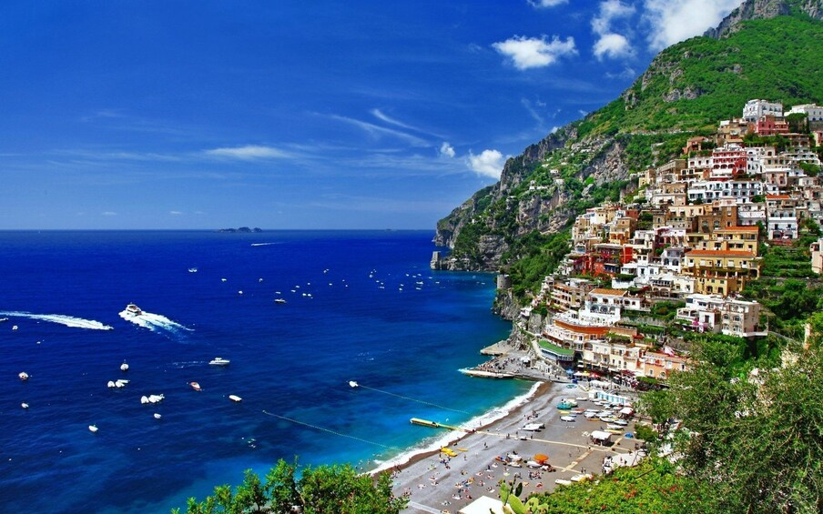 Show item 5 of 10. Panoramic view of the Amalfi Coast