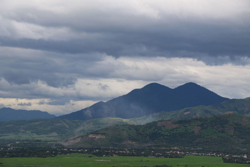 Mountain landscape in the Nha Trang countryside