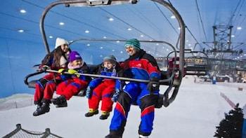 Private Tour to Polar Express Ski Egypt