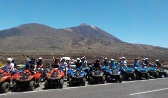 Quad adventure Teide Tour