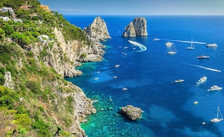 Private Boat Cruise to the Island of Capri from Salerno
