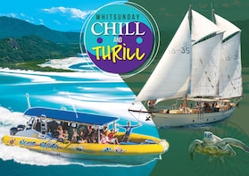 Whitehaven Beach + Sailing Tour Thrill & Chill 2-Day Package