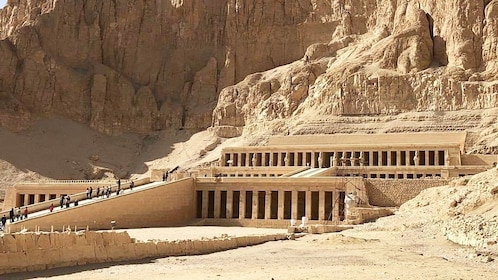 Mortuary Temple of Hatshepsut in New Valley, Egypt