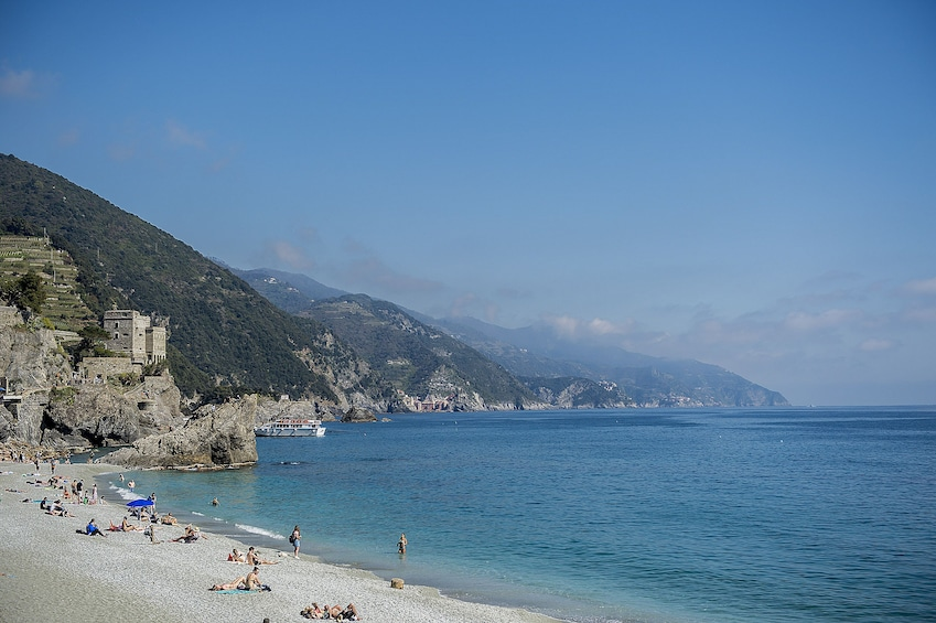 Show item 3 of 3. Cinque Terre Day Trip with optional Hiking from Florence