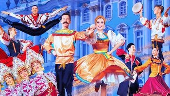 The Russian National Dance and Music World in Moscow