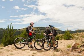 Introduction to Mountain Biking Lesson in Christchurch