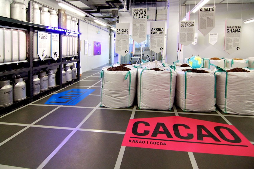 Maison Cailler Chocolate Factory in Switzerland