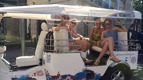 Best of Lisbon Half Day PRIVATE TUK TUK TOUR