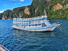 Maya Bay Sleepaboard Spend the night on our boat in Maya Bay