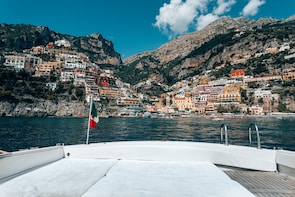 Highlights of the Amalfi Coast Private Boat Tour from Capri