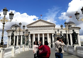 Private Day tour to Skopje Macedonia up to 4 people