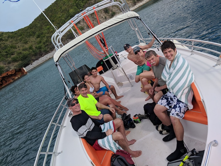 Show item 7 of 7. Caribbean Sea Boat Snorkel Tour