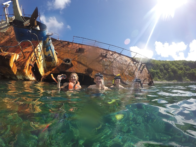 Show item 1 of 7. Caribbean Sea Boat Snorkel Tour