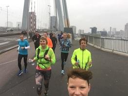 Highlight running tour Rotterdam