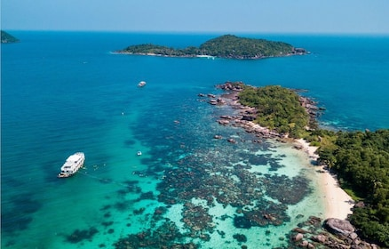 Aerial view of northern Phu Quoc Island