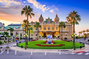 Trip from Nice to Monaco by train and walking tour in Monaco