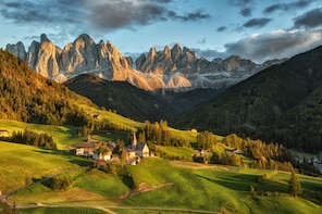 Dolomites mountains full-day tour from Lake Garda