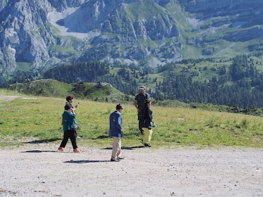 Group tour to the Dolomites mountains