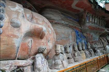 The Dazu Rock Carvings in Sichuan Province, China