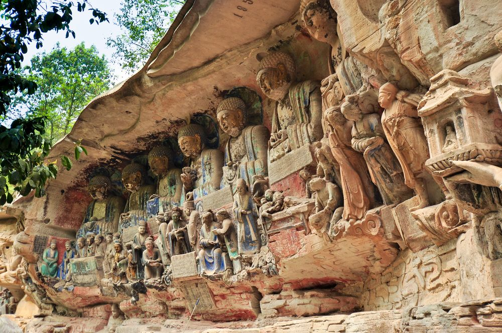 Dazu Rock Carvings Private Tour from Chongqing
