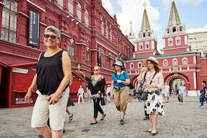 Moscow privately guided 4-day holiday