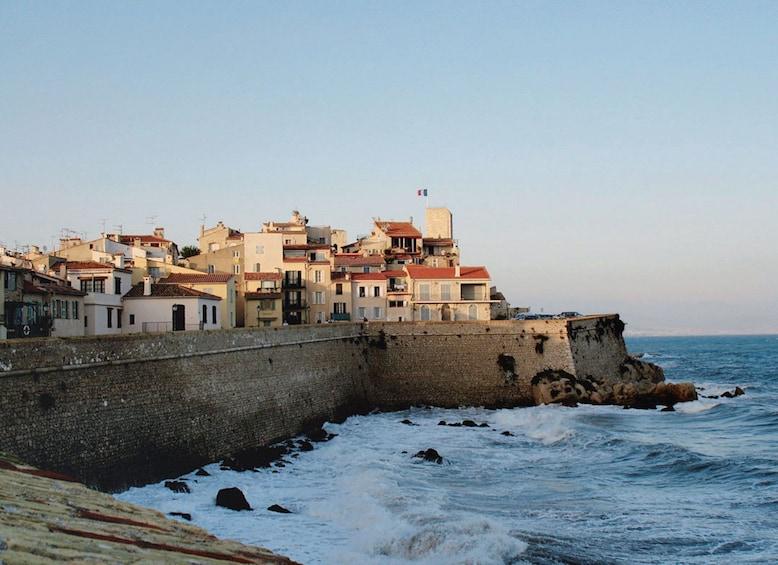Antibes on the coast