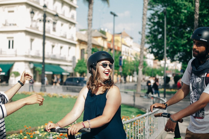 Show item 2 of 8. Seville: Panoramic segway tour (1 hour)
