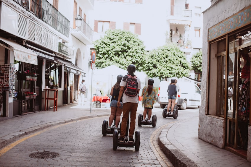 Show item 3 of 8. Seville: Panoramic segway tour (1 hour)