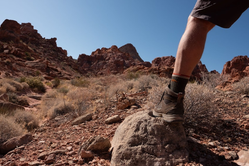 Show item 3 of 10. Bowl of Fire Hike in Lake Mead National Recreation Area