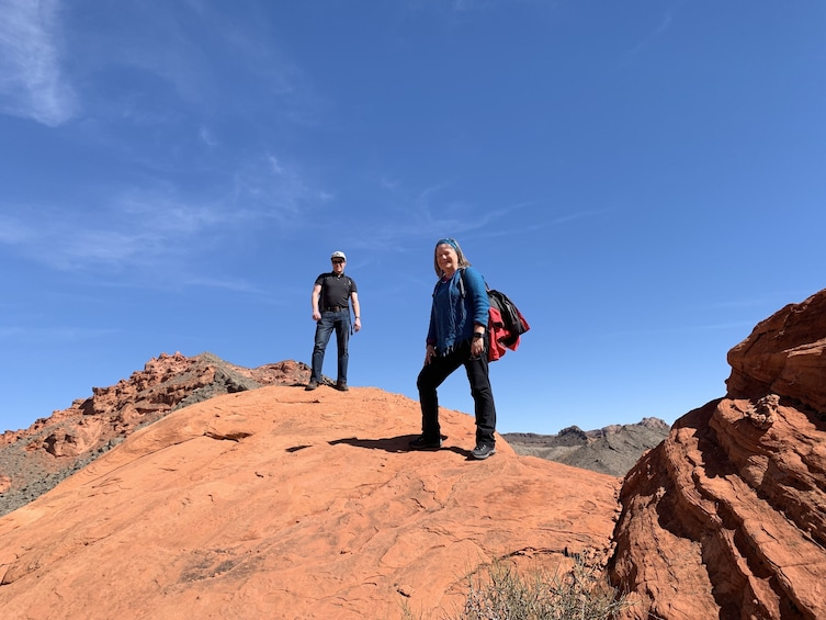 Show item 1 of 10. Bowl of Fire Hike in Lake Mead National Recreation Area
