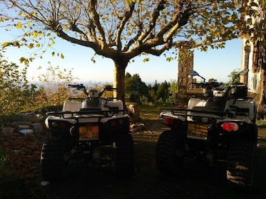 Pair of ATVs in Portugal