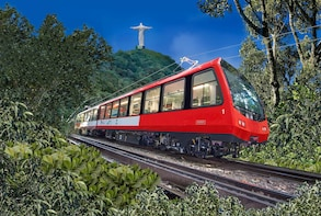 Full-Day in Rio Christ by Train, Sugarloaf, City Tour & BBQ