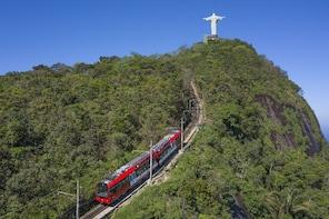 Half Day Christ by Train, Maracanã, Sambadrome & Stairway