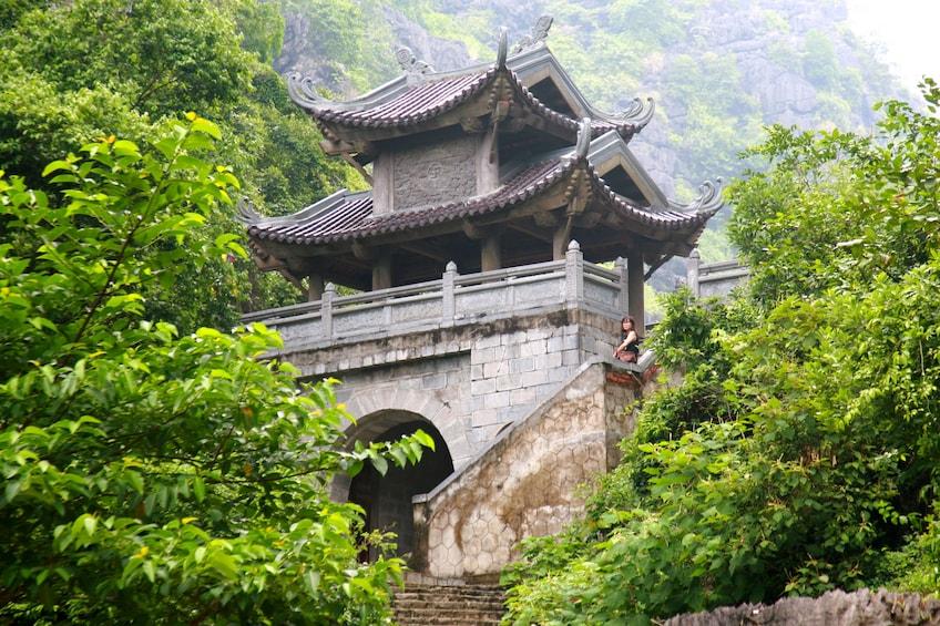 Show item 5 of 10. Am Tien Pagoda in Ninh Binh