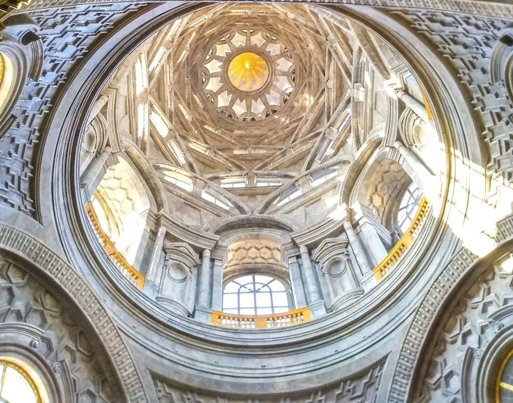 Show item 1 of 3. Domed ceiling of the Chapel of the Holy Shroud in Turin, Italy