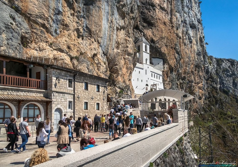 Show item 1 of 7. Private Excursion to Monastery Ostrog from Dubrovnik